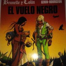 Cómics: EL VUELO NEGRO . GENIN - BOURGEON ( CIMOC EXTRA Nº 113 ). Lote 121392591