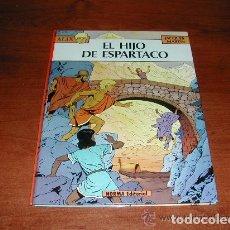 Cómics: ALIX. EL HIJO DE ESPARTACO. NORMA COMICS. JACQUES MARTIN. PRIMERA EDICIÓN 1983 TAPA DURA. Lote 121402755