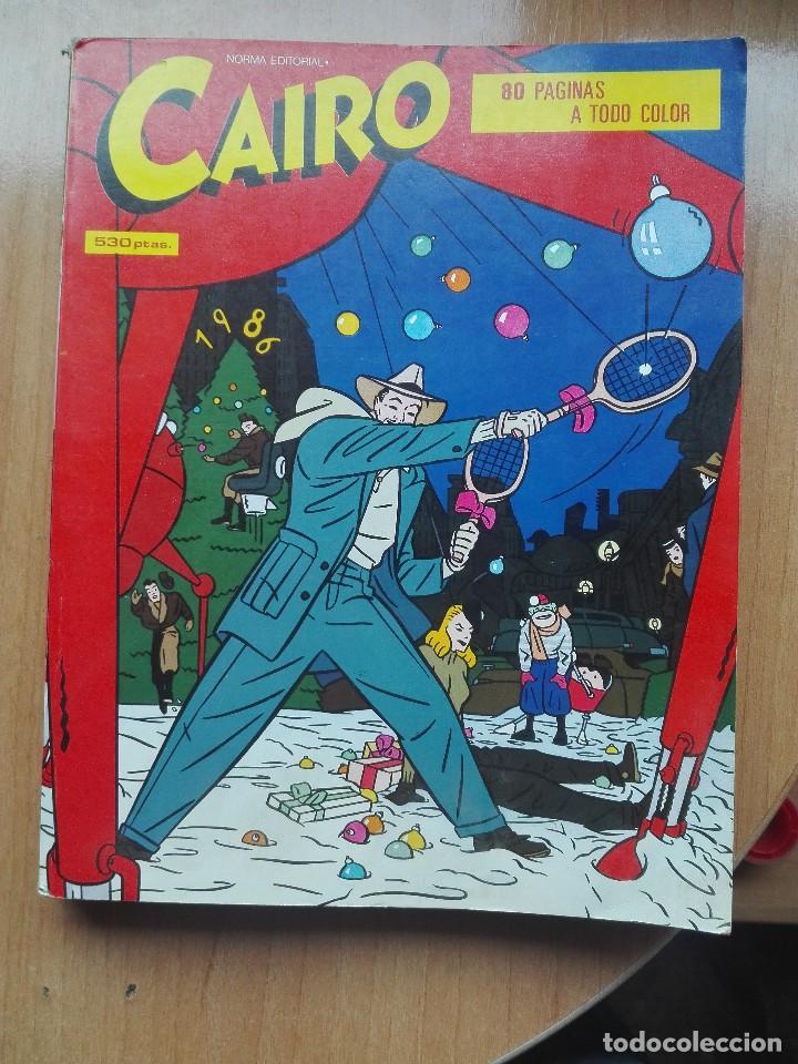 CAIRO.ANTOLOGIA 11.NUMEROS 34-35-36.1985 (Tebeos y Comics - Norma - Cairo)