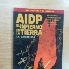 Cómics: AIDP #31 EL INFIERNO EN LA TIERRA #14 LA EXORCISTA. Lote 121549963