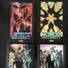 Cómics: THE AUTHORITY COLECCION COMPLETA DE 4 TOMOS. Lote 121610423