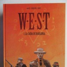 Cómics: W.E.S.T. COMPLETA 5 TOMOS - WEST - ROSSI, DORISON Y NURY - NORMA - TAPA DURA - MUY BIEN. Lote 121634679