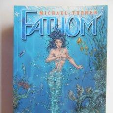 Cómics: FATHOM - COMPLETA 9 TOMOS - NORMA - TAPA BLANDA - MUY BIEN. Lote 121650071