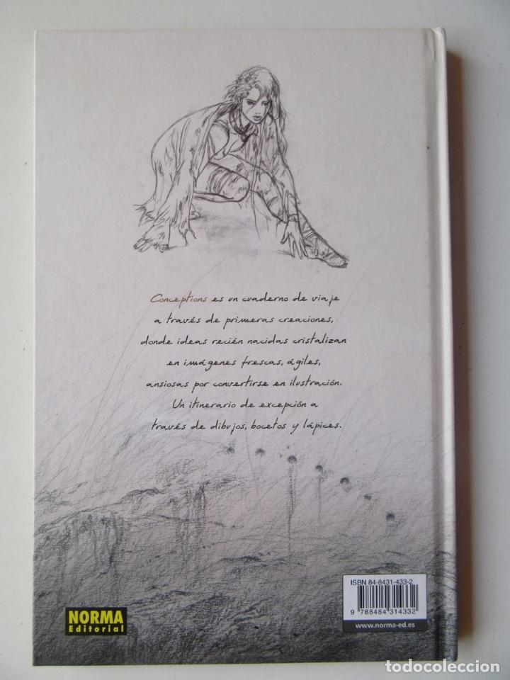 Cómics: CONCEPTIONS I - LUIS ROYO - NORMA - TAPA DURA - MUY BIEN - Foto 4 - 121652631
