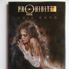 Cómics: PROHIBITED BOOK I - LUIS ROYO - NORMA - TAPA DURA - MUY BIEN. Lote 121653123