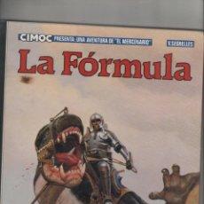 Cómics: CIMOC PRESENTA UNA AVENTURA DE EL MERCENARIO-V.SEGRELLES-NORMA-AÑO 1983-COLOR-FORMATO CARTONE-Nº 2. Lote 121656347