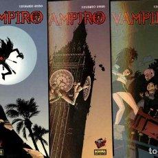 Cómics: YO, VAMPIRO 1 AL 4. COMPLETA. DE EDUARDO RISSO Y CARLOS TRILLO (NORMA, 2005). Lote 121665243