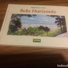 Cómics: BELO HORIZONTE. MIGUELANXO PRADO. NORMA EDITORIAL. TAPA DURA. BUEN ESTADO. ALGO RARO. Lote 121672875