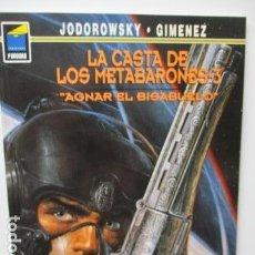 Cómics: LA CASTA DE LOS METABARONES 3: AGNAR EL BISABUELO (NORMA, CARTONÉ) - JODOROWSKY Y JUAN GIMÉNEZ . Lote 121760887