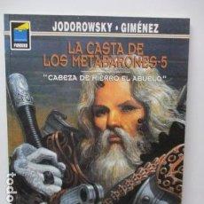 Cómics: JODOROWSKY. JUAN GIMENEZ. LA CASTA DE LOS METABARONES TOMO 5.. Lote 121762283