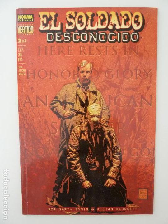EL SOLDADO DESCONOCIDO. Nº 2. VERTIGO Nº 63 (Tebeos y Comics - Norma - Otros)