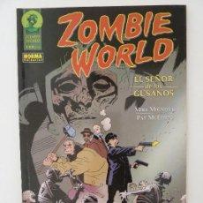 Cómics: ZOMBIE WORLD. EL SEÑOR DE LOS GUSANOS. Lote 121801975