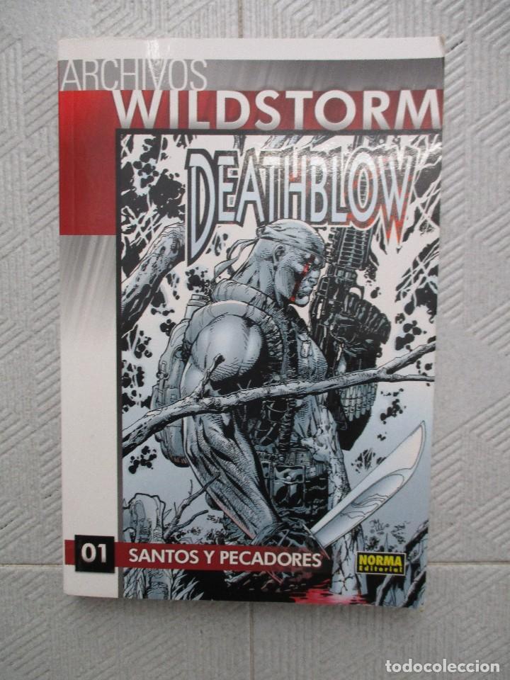ARCHIVOS WILDSTORM - DEATHBLOW Nº 1 - SANTOS Y PECADORES - NORMA EDITORIAL. (Tebeos y Comics - Norma - Comic USA)