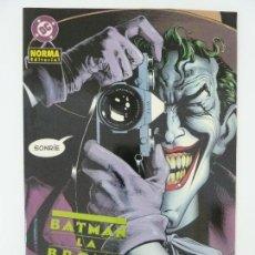 Cómics: BATMAN. LA BROMA ASESINA. Lote 121981015