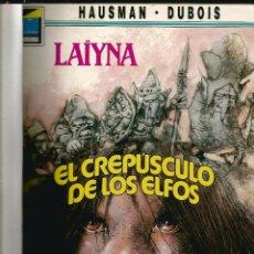 Cómics: 2 COMIC RETAPADO LAIYNA EL CREPUSCULO DE LOS ELFOS Y LA FORTALEZA DE PIEDRA . Lote 122024291