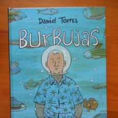 Cómics: BURBUJAS - DANIEL TORRES - NORMA - TAPA DURA (BN). Lote 122083695