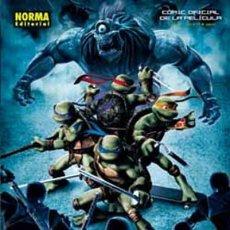 Cómics: TMNT TORTUGAS NINJA JOVENES MUTANTES COMIC OFICIAL DE LA PELICULA - NORMA - COMO NUEVO - OFI15. Lote 134085695
