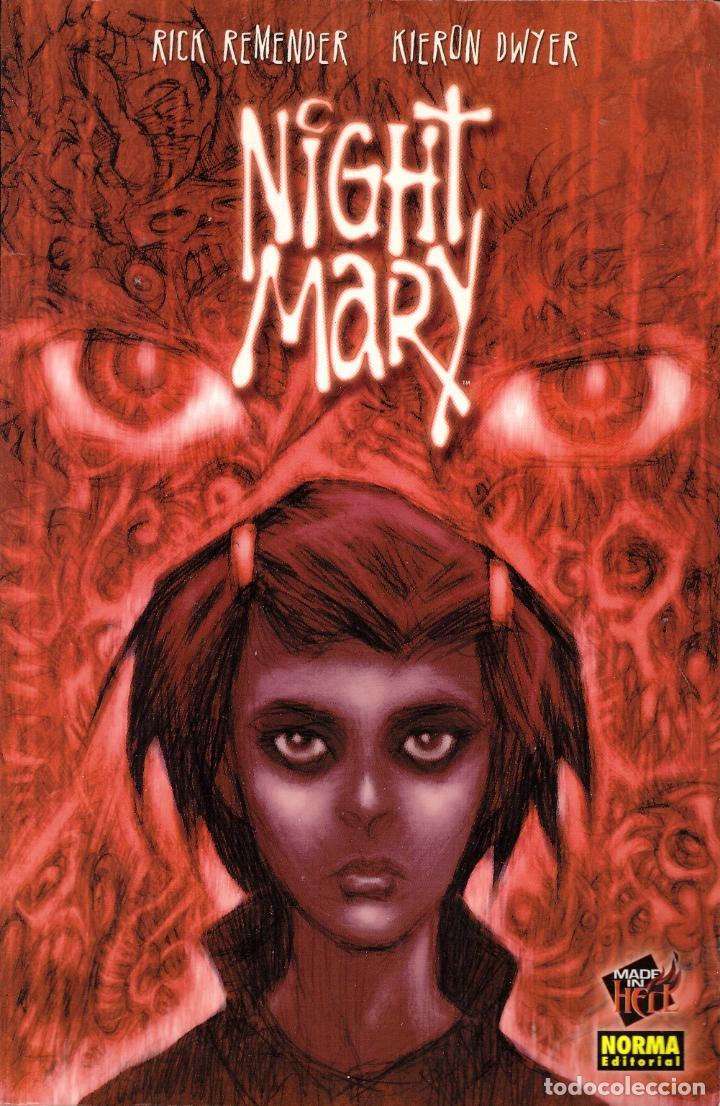 COMIC NIGHT MARY (EN CASTELLANO) - RICK REMENDER; KIERON DWYER; NORMA EDITORIAL (Tebeos y Comics - Norma - Otros)