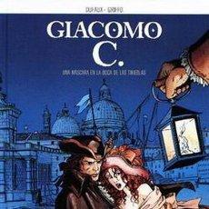 Cómics: GIACOMO C. UNA MASCARA EN LA BOCA DE LAS TINIEBLAS, DUFAUX - GRIFFO (NORMA EDITORIAL). Lote 123063487