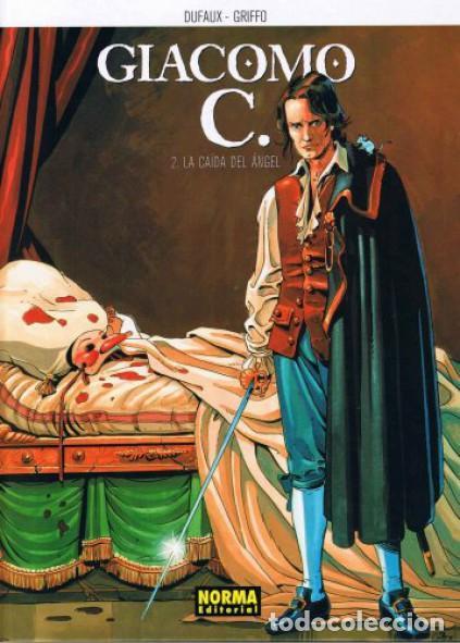 GIACOMO C. 2 LA CAÍDA DEL ÁNGEL, DUFAUX - GRIFFO (NORMA EDITORIAL) (Tebeos y Comics - Norma - Otros)
