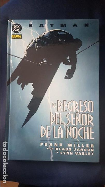 BATMAN: EL REGRESO DEL CABALLERO OSCURO - TOMO - NORMA (Tebeos y Comics - Norma - Comic USA)