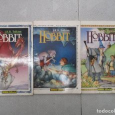 Cómics: COLECCION COMPLETA EL HOBBIT TRES VOLUMENES NORMA EDITORIAL. Lote 123789651