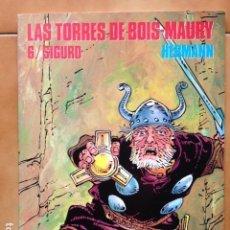Cómics: CIMOC EXTRA COLOR 114 : LAS TORRES DE BOIS-MAURY 6 / SIGURD POR HERMANN - 1ª EDICIÓN 1994 NORMA ED.. Lote 123818531