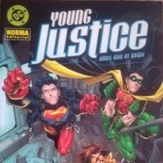 Cómics: YOUNG JUSTICE ELLOS DAN EL GOLPE. Lote 124212055