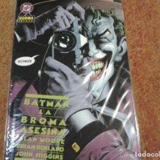 Comics: BATMAN: LA BROMA ASESINA - TOMO - NORMA. Lote 125145995
