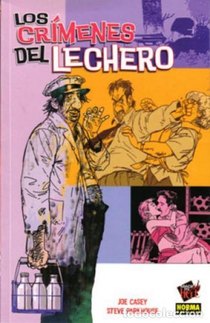 LOS CRIMENES DEL LECHERO - COL. MADE IN HELL Nº 10 - NORMA - COMO NUEVO - OFI15 (Tebeos y Comics - Norma - Comic USA)
