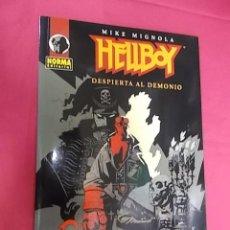 Cómics: HELLBOY DESPIERTA AL DEMONIO. NORMA EDITORIAL.. Lote 125343115