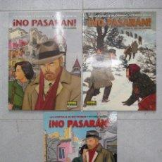 Cómics: MAX FRIDMAN ! NO PASARAN ! TRILOGIA COMPLETA VITTORIO GIARDINO NORMA EDITORIAL. Lote 125421483