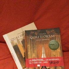 Cómics: QUAI D'ORSAY DE LANZAC & BLAIN. Lote 125469555