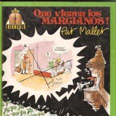 Cómics: QUE VIENEN LOS MARCIANOS (PAT MALLET) NORMA - TAPA DURA - OFI15. Lote 125861695