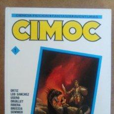 Cómics: CIMOC Nº 1 (RETAPADO EN CARTONE CON LOS NUMEROS 9, 10 Y 11 DE CIMOC) NORMA - OFM15. Lote 125969619