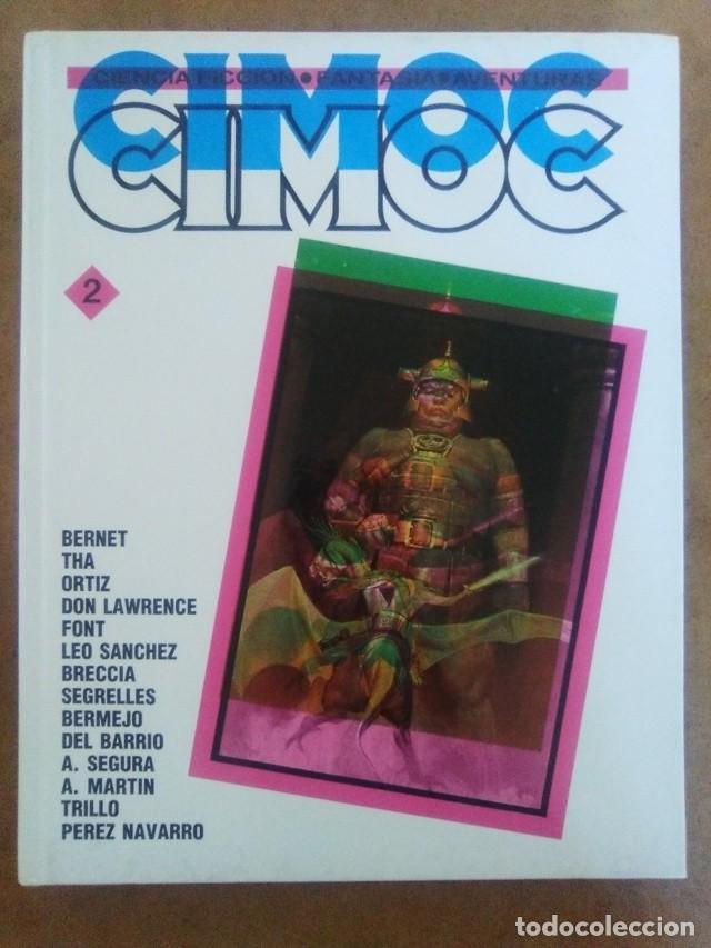 CIMOC Nº 2 (RETAPADO EN CARTONE CON LOS NUMEROS 19, 20 Y 21 DE CIMOC) NORMA - OFM15 (Tebeos y Comics - Norma - Cimoc)