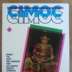 Cómics: CIMOC Nº 2 (RETAPADO EN CARTONE CON LOS NUMEROS 19, 20 Y 21 DE CIMOC) NORMA - OFM15. Lote 125969719
