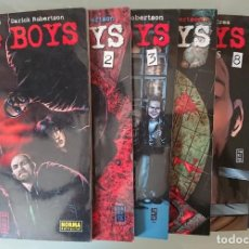 Cómics: THE BOYS , NUMEROS 1, 2, 3, 4, 8 (5 TOMOS). Lote 126053767