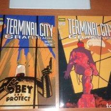 Cómics: TERMINAL CITY GRAFFITI AEREO 2 TOMOS VERTIGO NORMA EDITORIAL. Lote 126065479