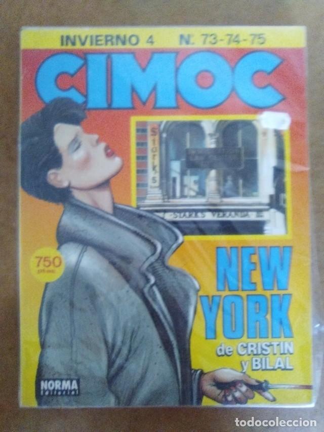 CIMOC INVIERNO Nº 4 (RETAPADO CON LOS NUMEROS 73 A 75) NORMA - BUEN ESTADO - OFM15 (Tebeos y Comics - Norma - Cimoc)