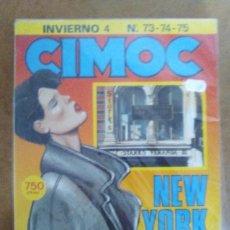 Cómics: CIMOC INVIERNO Nº 4 (RETAPADO CON LOS NUMEROS 73 A 75) NORMA - BUEN ESTADO - OFM15. Lote 126081835