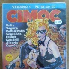 Cómics: CIMOC VERANO Nº 4 (RETAPADO CON LOS NUMEROS 61 A 63) NORMA - BUEN ESTADO - OFM15. Lote 126082123
