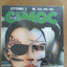 Cómics: CIMOC OTOÑO Nº 3 (RETAPADO CON LOS NUMEROS 64 A 66) NORMA - BUEN ESTADO - OFM15. Lote 126082191