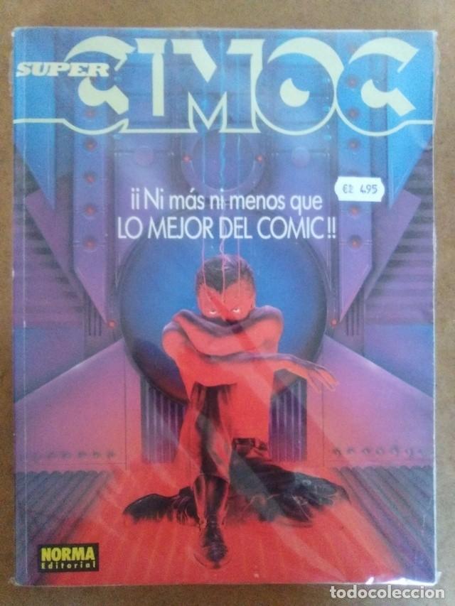 SUPER CIMOC Nº 4 (RETAPADO CON LOS NUMEROS 104 A 106) NORMA - BUEN ESTADO - OFM15 (Tebeos y Comics - Norma - Cimoc)