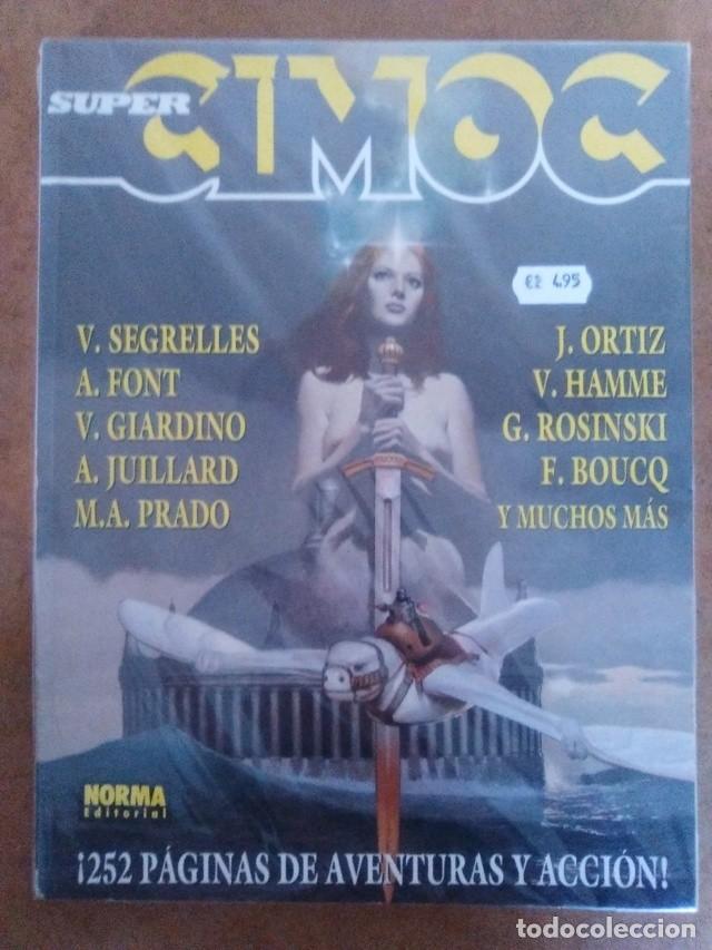 SUPER CIMOC Nº 2 (RETAPADO CON LOS NUMEROS 98 A 100) NORMA - BUEN ESTADO - OFM15 (Tebeos y Comics - Norma - Cimoc)
