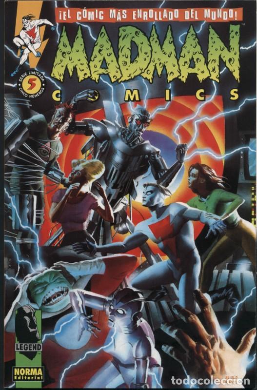 MADMAN Nº 5 NORMA COMICS MIKE ALLRED (Tebeos y Comics - Norma - Comic USA)