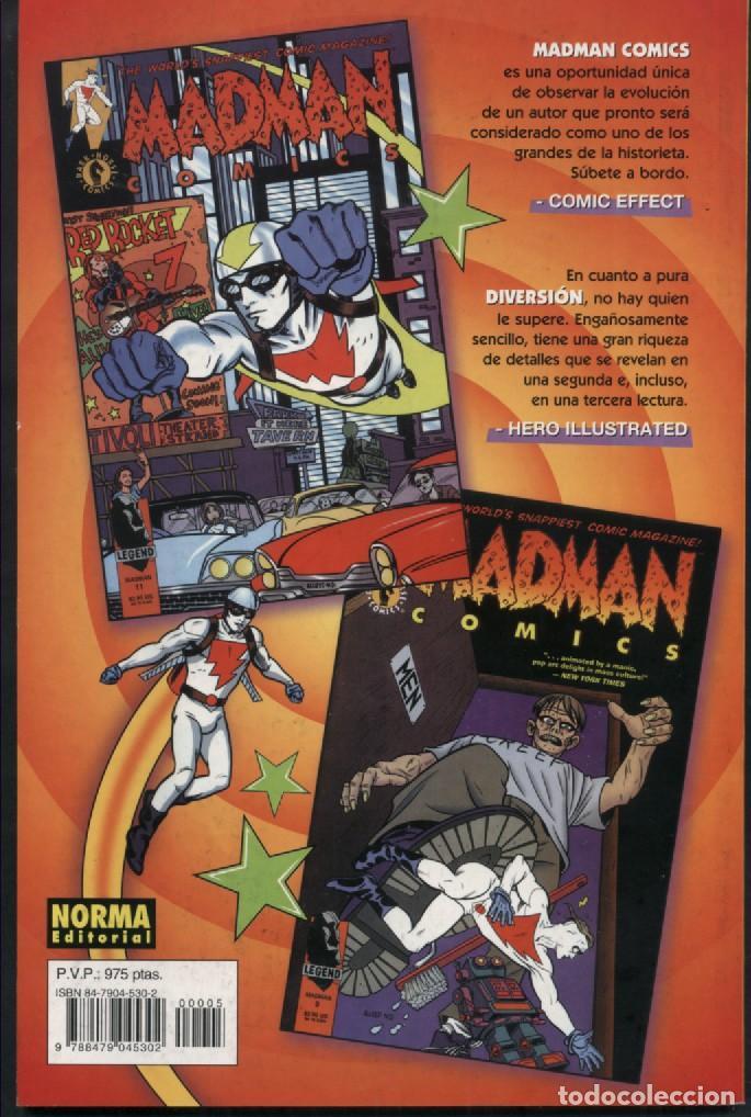Cómics: MADMAN Nº 5 NORMA COMICS MIKE ALLRED - Foto 2 - 126085147