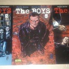 Cómics: COMICS - THE BOYS - 3 PRIMEROS NÚMEROS - EDITORIAL NORMA. GARTH ENNIS. Lote 126110371