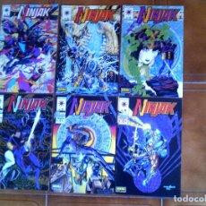 Cómics: LOTE DE COMICS DE NINJAK DE NORMA N,1,2,3,4,5,6,. Lote 126119871