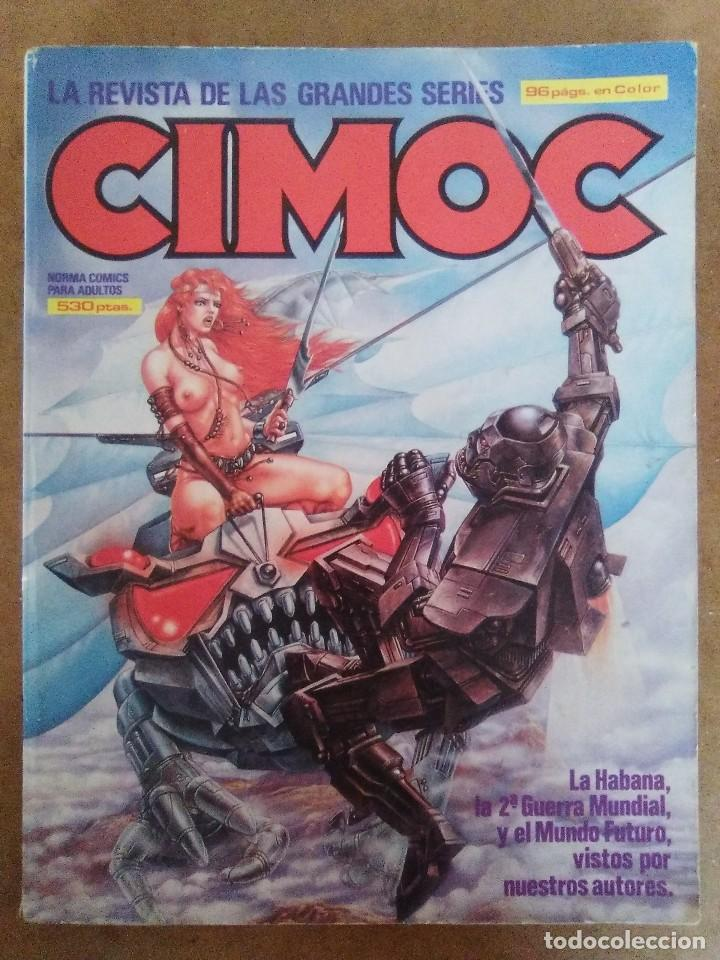 CIMOC RETAPADO Nº 12 (CONTIENE LOS NUMEROS 44 A 46) NORMA - BUEN ESTADO - OFM15 (Tebeos y Comics - Norma - Cimoc)